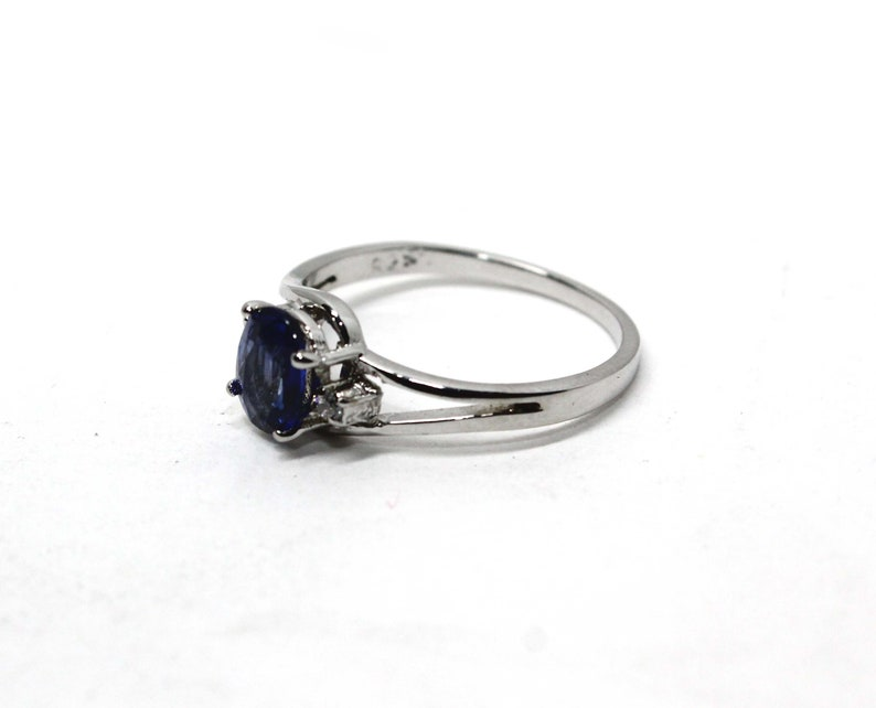 Sapphire Ring Pear Cut Ring Cubic Zircon Promise Designer Engagement And Wedding Ring Handcraft Gift For Her 925 Sterling Silver