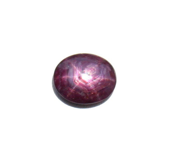 1 PCS Natural Star Ruby Gemstone Star Ruby Cabochon 6 Ray Star Ruby Gems Loose Ruby Cabs For Jewelry Making Ruby Cabs