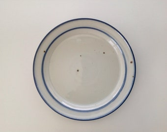 "Set of 2 - Vintage Dansk Blue Mist 7"" Bread and Butter Plate - Dansk Designs Denmark - Niels Refsgaard"