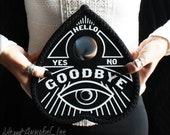 Ouija Board Planchette Heart Shaped Box | Black Spirit Board Valentine | Anniversary Gift | Goth | Gothic | Anti Valentine's Day | Occult