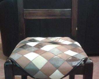 Copri sedie in pelle con alette