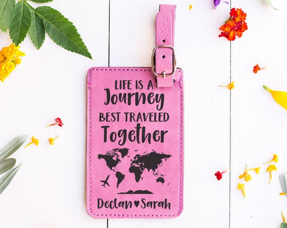 Luggage Tags - HeartCarvedTree