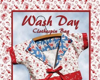 Wash Day Clothespin Bag by Darlene Zimmerman