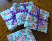 Fifty Five 5 quot Feedsack Squares 55 different clean squares