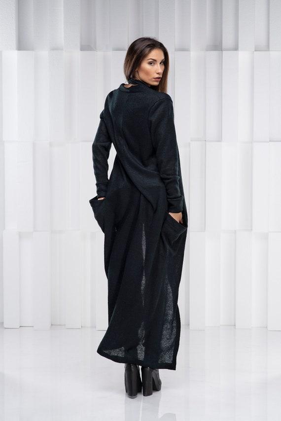 Maxi Cardigan, lange Strickjacke, Frauen Strickjacke, Gothic Cardigan, Plus Größe Cardigan, übergroße Strickjacke, Plus Größe Kleidung, lange stricken