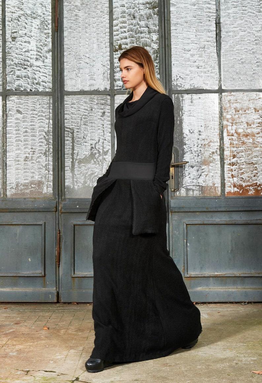 4718ad972 Winter Maxi Dress Plus Size Maxi Dress Plus Size Clothing | Etsy