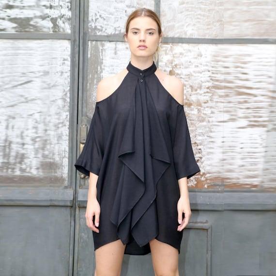 Linen Top Off Shoulder Top Plus Size Top Linen Tunic Etsy