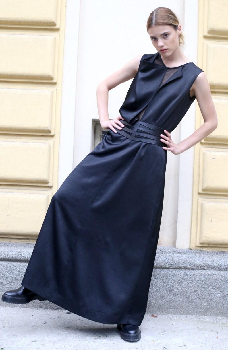 343cfb477fd Black Maxi Dress Long Maxi Dress Womens Caftan Plus Size
