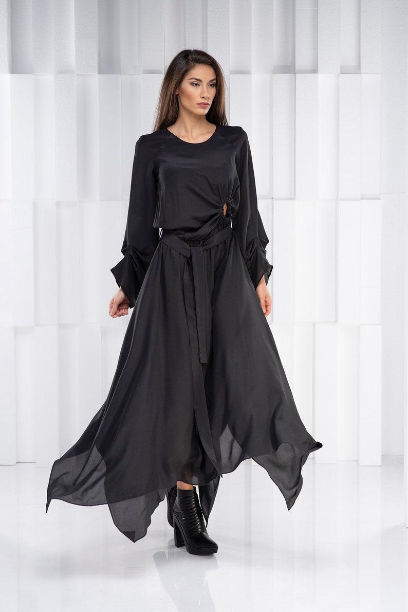 Plus Size Maxi Dress, Trendy Plus Size Clothing, Cut Out Dress, Long Maxi  Dress, Caftan Dress, Avant Garde Plus Size Dress, Steampunk Dress