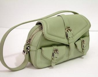 83296a3bc48 Cole Haan Mint Green Alexis Handbag