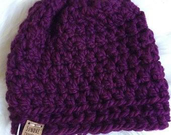 Scoops Of Fun Beanie | Beanie Hat | Winter Hat | Crochet Hat