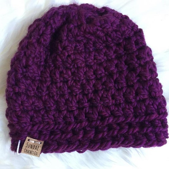 Scoops Of Fun Beanie | Beanie Hat | Winter Hat | Crochet Hat