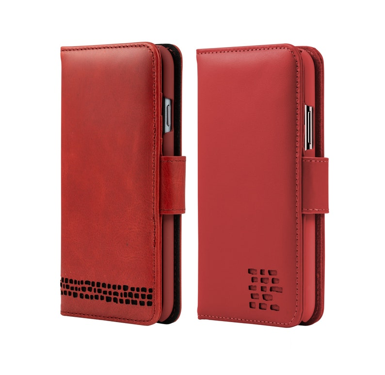 best service 8dc82 a2ab2 iPhone SE 5 5S Red Leather Cases - Luxury Genuine Real Leather - Perfect  gift for Men or Women - Choice of Vintage and Smooth Red Finishes