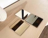 Mirror Samples- Tinted Mirror, Bronze Mirror, Smoke Mirror, Clear Mirror