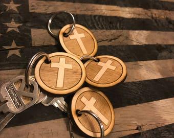 Religious Cross Key Chain!