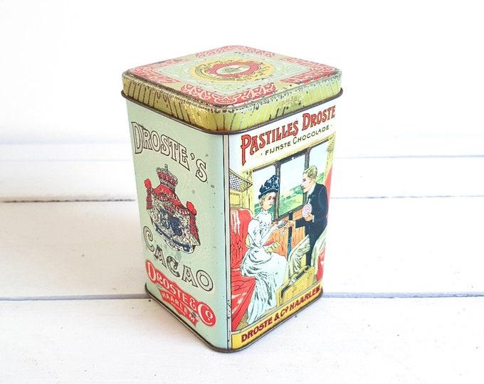 Old Dutch tin * vintage storage container * kitchen storage * vintage kitchen decoration * collectible tin * nurse
