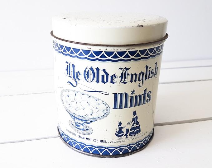 Vintage Americana tin 'Mints'