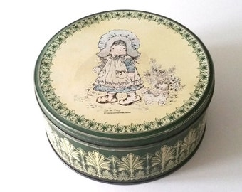 Old cookie tin 'Holly Hobbie'