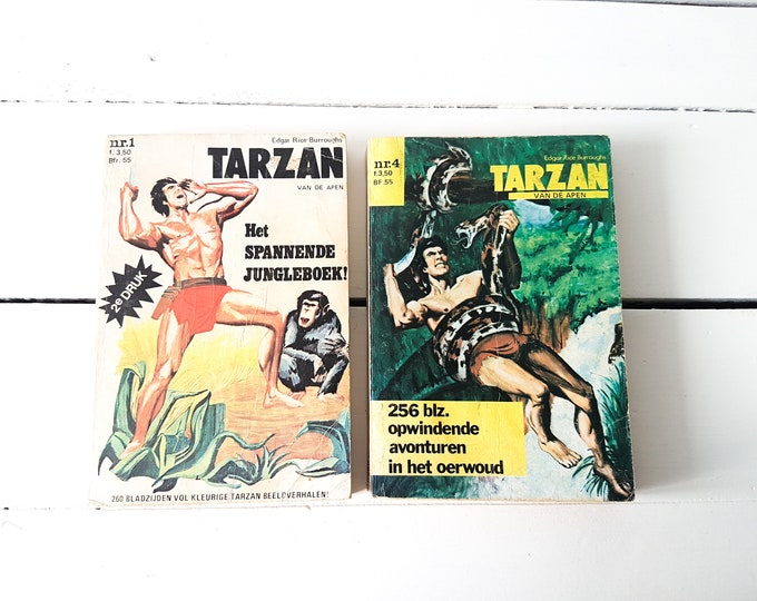 Vintage paperbacks * vintage comics * vintage paperware * home decoration * mancave decoration