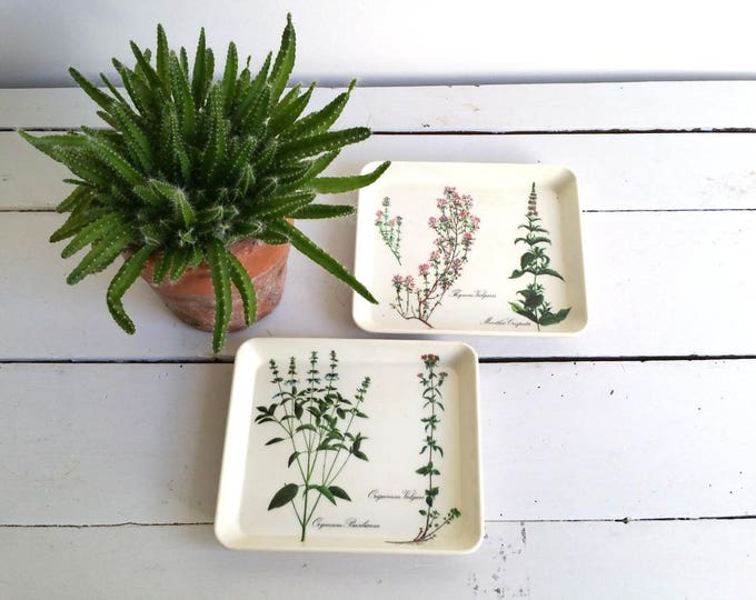 Vintage set serving dishes 'herb'