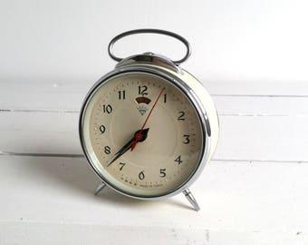 Old alarm clock off white 'Diamond'