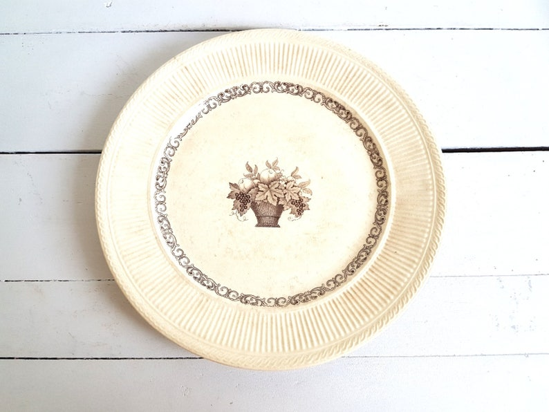 Beautiful Antique Porcelain Plate Diana By Rorstrand Etsy