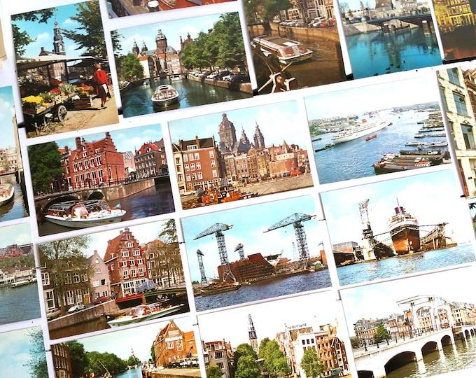 Vintage photo snapshots pack 'Amsterdam'