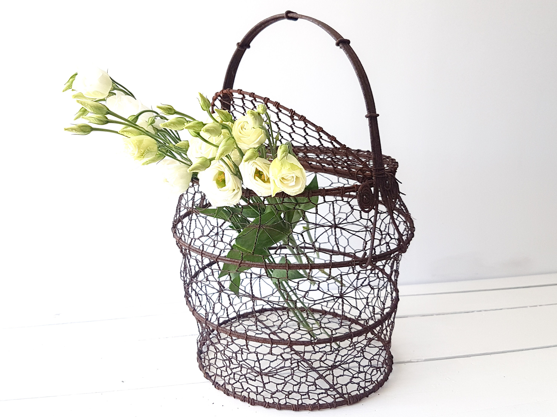 french wire basket flower data wiring u2022 rh 149 28 198 245