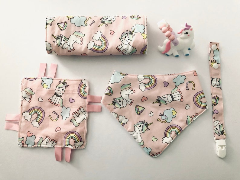 Baby Bibs Pack Of 3 Dummy Holding Cotton With Fleece Lining Girl Boy Pink Blue
