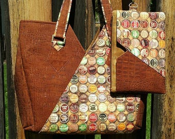 Vespera Tote with Removable Pocket Pouch   Wristlet PDF Sewing Pattern- RLR  Creations cd937fca1ed36