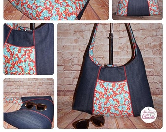 Livia Reversible Bag PDF Sewing Pattern -  RLR Creations