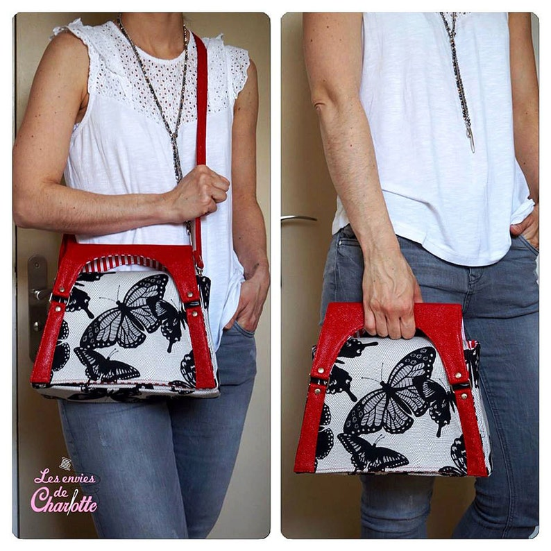 bc4f10d0a059 Alyssia Clutch Shoulder Bag Crossbody Bag Pattern PDF Bag