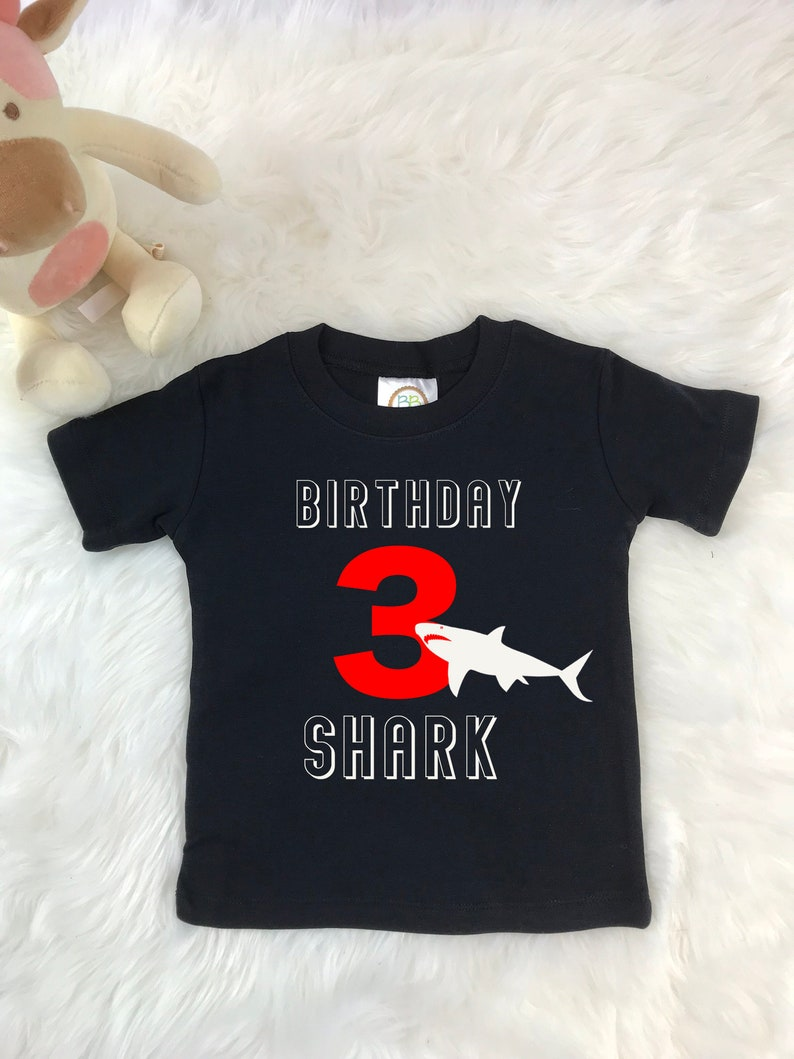 3rd birthday shirt boy baby shark shirt Shark birthday shirt birthday shirt boy Shark T shirt 3 year old birthday shirt Shark shirt