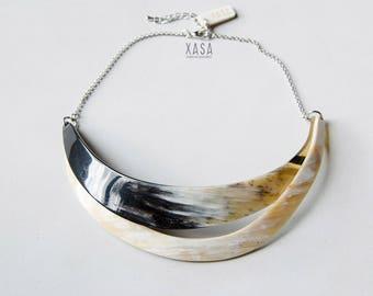 "Choker necklace ""Layers"" Version 3"