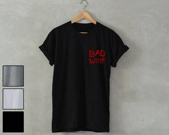 70814241e BAD WOLF Shirt bad wolf t-shirt Unisex T-Shirt dr who t-shirt   Etsy