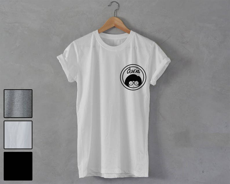 e3eb7ea2e DARIA Shirt 90s tv show series daria t-shirt Unisex T-Shirt   Etsy