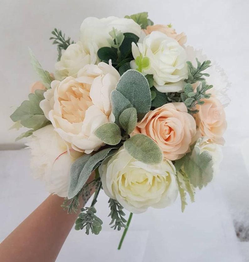 Roseetsy À De Fard Pivoine Bouquet Soie Mariage Joues Bfvy76gy bY76gfy
