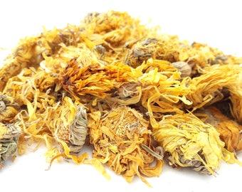 Dried Calendula Flowers, 100g, Candle, Soap, Bath Bomb, Bath Tea, Soak, Herbal Soak, Tincture, Infusion, Dried Flowers, Marigold Flowers