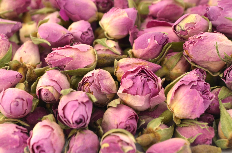 Ivoire Rose Bourgeons Séché Fleur Rose Craft Tea Pot-Pourri Savon Bougie Décoration 5 g 250 g