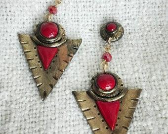 CLEOPATRA in  red versione big
