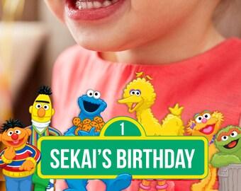Sesame Street Birthday Snapchat Filter