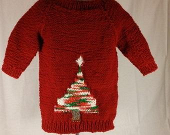 Holiday short sleeves sweater
