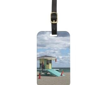 Florida Beach Luggage Tag