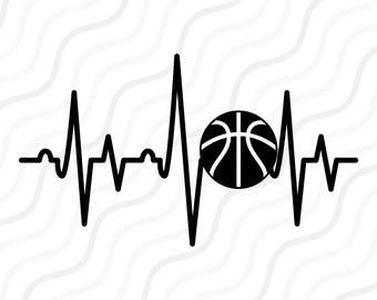 Heartbeat Line Art : Heartbeat svg etsy