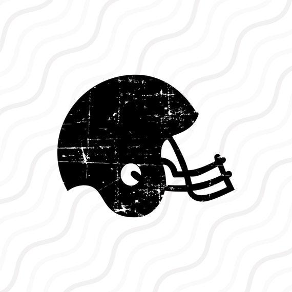Football Helmet SVG Football SVG Distressed Football SVG ...