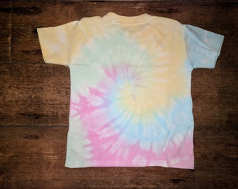 Personalised Rainbow Swirl Top