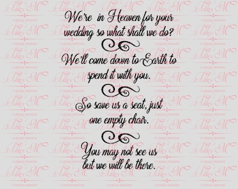 were in heaven for your wedding lost love one christian svg scripture svg bible svg quote svg inspirational svg
