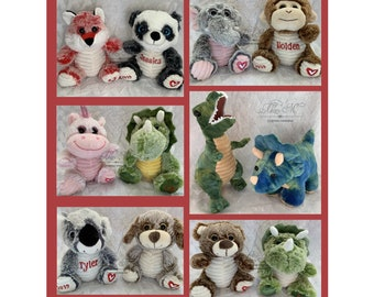 b51905f08e39 Personalized Stuffed Animal, Birthday Gift, Valentines Day Gift, Get Well,  New Baby, Easter Gift, Christmas Gift, Boy Gift, Girl Gift