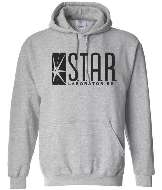 STAR Laboratories Mens Hoodie Sweatshirts The Flash TV Series Unisex Inspired