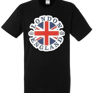Londen Engeland Union Jack Pullover Bedrukte Hoodie Casual